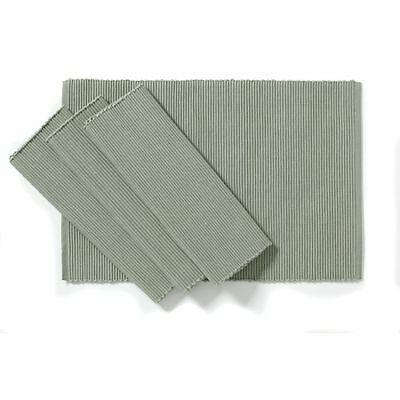C'est Ca Ribbed Placemats Sage (Set of 4)