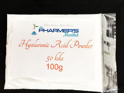 Pure Hyaluronic Acid Powder All Molecular Weights Cosmetic & Food Grade Vegan