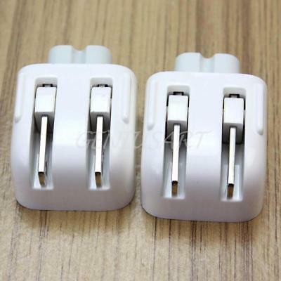 2Pcs US Power Adapter Converter Charger Wall Plug for Apple Macbook Ipad1/2/3/4
