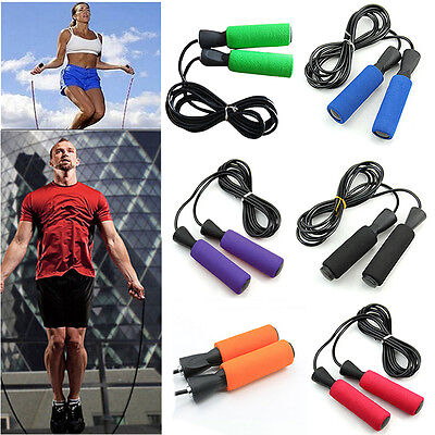 Adjustable Bearing Speed Aerobic Exercise Fitness Gym Boxing Skipping Jump Rope