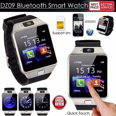 DZ09 Bluetooth Wrist Smart Watch GSM For Android Samsung/iPhone/HTC Phone Mate