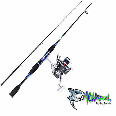 NEW ROD & REEL COMBO 2.1 Meter rod and reel Spinning Rod BM3000