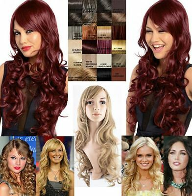 "New Extra Long Soft Curly Hair Wig 24"" Uk 21 Colours G856 Olivia Koko"