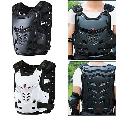 Motorcycle Motorbike Motocross Chest Back Protector Armour Vest Racing Protectiv