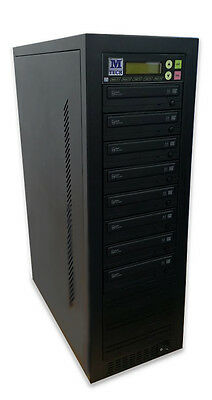 7 - in 1 DVD CD DISC BURNER DUPLICATOR ASUS ACARD 22X COPIER with SATA DRIVES
