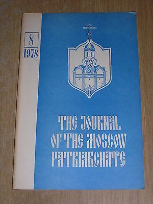 The Journal Of The Moscow Patriarchate 8 / 1978