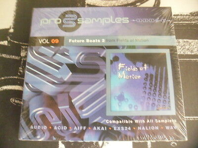 PROSAMPLES Vol 9- future Beats 2 from Fields of Motion- CD NEUF