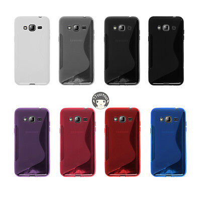 Soft S-Line Gel TPU Silicone Case Cover Skin For Samsung Galaxy J3 (2016) J320F