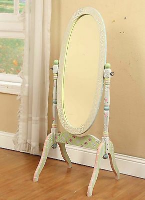 Fantasy Fields Childrens Wooden Full Length Standing Mirror Bedroom W-6308A