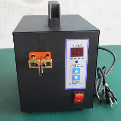 VICT 110V Hand-held Spot Welder Machine Welding for Power / Mobile Phone Battery