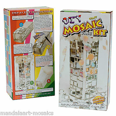 Mosaic Mirror Vase Craft Kit