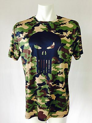 Marvel The Punisher Camo Shirt XL