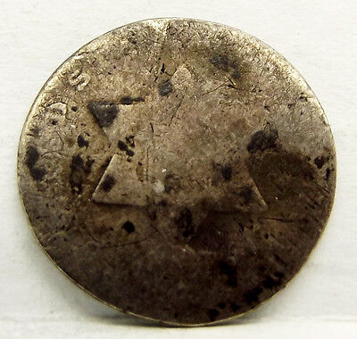 United States 1851-1853 Silver Three Cent Piece (Trimes) Coin Free Shipping!
