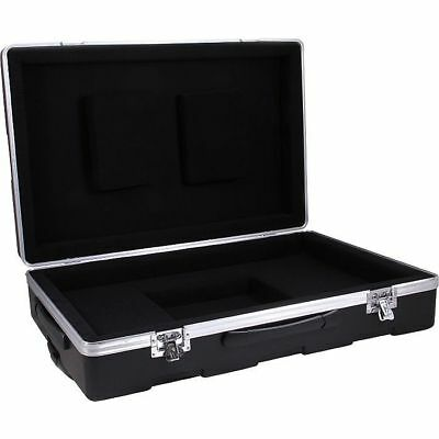 Moog Moulded ATA Road Case For EW Pro Thermin With Handle, Wheels & Moog Logo