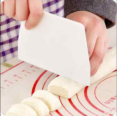 Scrapers Cake Decorating Fondant Icing Smoother Mould Mould Tool New H