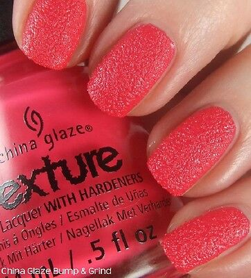 CHINA GLAZE Nail Lacquer - Collection Texture (Bump and Grind) 14ml OVP