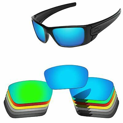 PapaViva Polarized Replacement Lenses For-Oakley Fuel Cell Sunglass Multi-Option