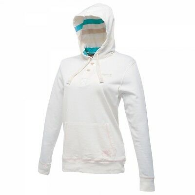 White Regatta Hooded Fleece Ladies Womens Hoody - Size 10 ONLY