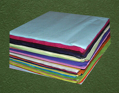 100sheets  64cmX64cm Coloured Embossed Craft Paper 50GSM