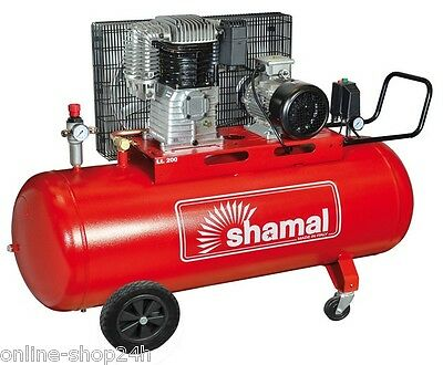 COMPRESSOR AIR Two Pistons TWO-STEP SHAMAL CT 500/200 495 L/MIN