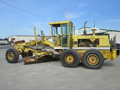 1990 Dresser 850 Motor Grader Enclosed Cab
