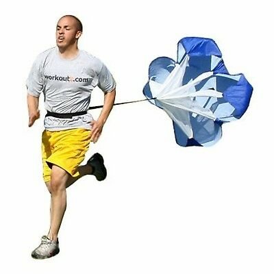 Workoutz Power Speed Chute Training Parachute Sport Equipment Small - 42 Inch