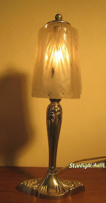 Wonderful French Art Deco Table Lamp 1925 By Muller Frères And M. Puel-Detot