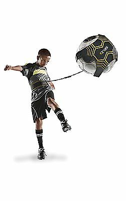 Football Training Ball Soccer Practice Trainer Equipment Free Kick Train Sports