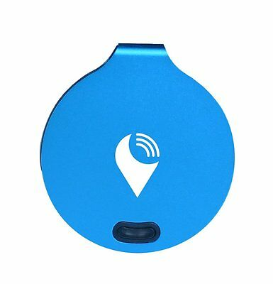 Genuine Trackr Bravo Tracking Device - Crowd GPS Tracker - Key Finder - Blue