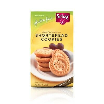 Schar Gluten Free Shortbread Cookies. Shipping Included