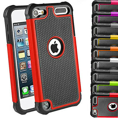 For Apple iPod Touch 5th 4th Generation 5G 5 Hybrid Shockproof Hard Matte Case