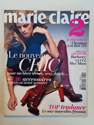 Magazine revue MARIE CLAIRE french Hors serie 14 automne hiver 2011 12 Louboutin