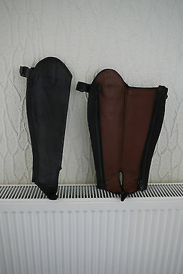 Tuffa Trakhener Leather Gaiters