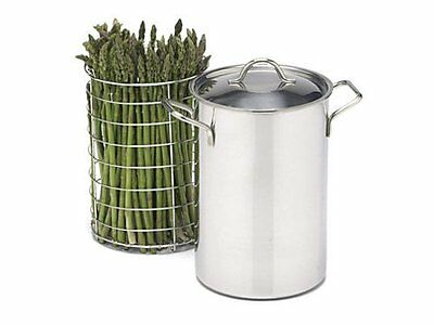RSVP Stainless Steel Asparagus/Vegetable Steamer (SAS 4)