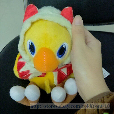 """7 inch Final Fantasy Chocobo """" White Mage"""" Plush Doll Stuffed Toy US Shipped"""