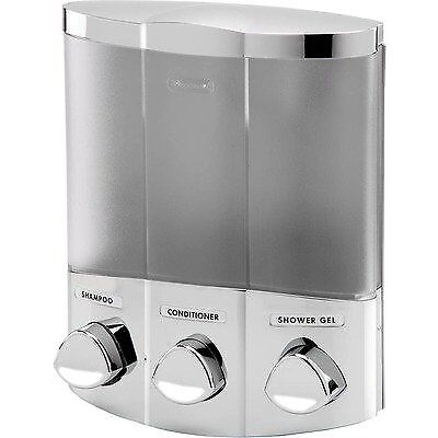 Better Living Euro Chrome Dispenser TRIO - 76344-1