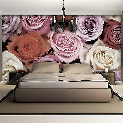 fototapete fototapeten tapete tapeten foto poster blumen lillien rosa 1231 p4 picclick de. Black Bedroom Furniture Sets. Home Design Ideas