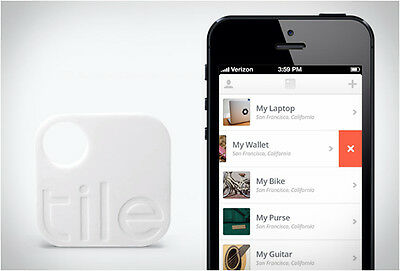 TILE APP KEY FINDER ITEM TRACKER - 2nd GEN - TRACKING DEVICE FOR IOS/ANDROID