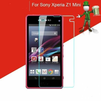 2 x Genuine 9H Tempered Glass Screen Protector For Sony Xperia Z1 Compact/ Mini