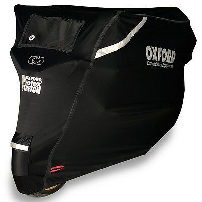 Oxford Protex Stretch Premium Outdoor Motorcycle Cover LARGE