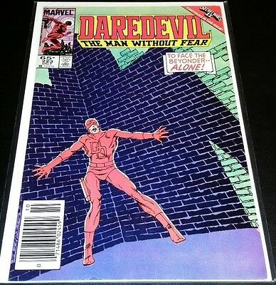 Daredevil #223. Featuring The Beyonder!