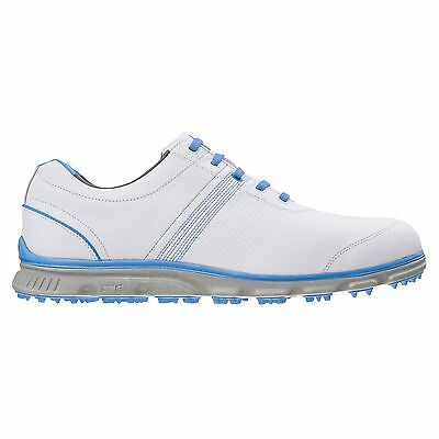 Footjoy 2015 Dryjoy Casual Spikeless waterproof Golf Shoes White Blue