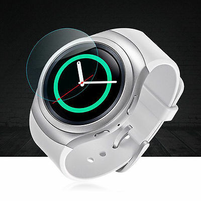 2 PCS/set TEMPERED GLASS SCREEN PROTECTOR FOR Samsung Galaxy Gear S2/S2 Classic