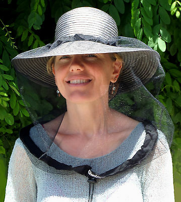 Deluxe Hat Net for Fly Mosquito Protection, Aus Made, superior quality to others