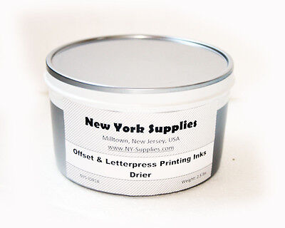 Drier for Letterpress & Offset Printing Inks - 2.5 lbs each