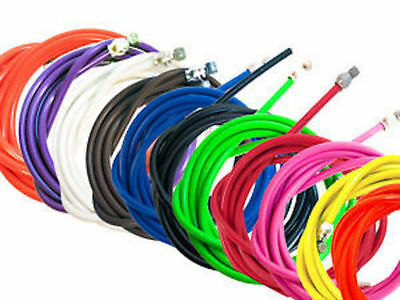 BMX Brake Cable Various Colours 1.6mm x 1500mm Old School BMX - FREE SHIPPING