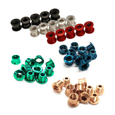 Old School BMX chain wheel bolts chain ring bolts chainring assorted colours