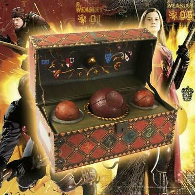 Official Harry Potter Collectible Quidditch Set Movie Fan Wizard Sport Bludgers