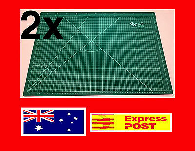 2X Quality A2 Self Healing Large Thick Cutting Mat Craft Quilting Scrapbooking