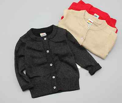 NEW Kids Girls Shimmer Cotton Knit Sweater Cardigan Top size 12m.18m.24m.3.4.5